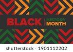 black history month. african...   Shutterstock .eps vector #1901112202