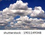 Nimbus Clouds In The Blue Sky...