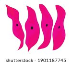 smooth muscle tissue different... | Shutterstock .eps vector #1901187745