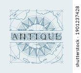 vector banner or logo for an... | Shutterstock .eps vector #1901237428