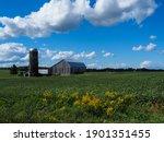 A Weathered Barn In Michigan