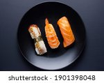 close up of sashimi sushi set...   Shutterstock . vector #1901398048