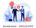 angel sponsor investing money... | Shutterstock .eps vector #1901411455