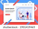 freelancer working in fast food ... | Shutterstock .eps vector #1901419465