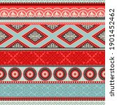 seamless pattern with... | Shutterstock .eps vector #1901452462