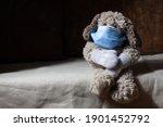 winter covid 19 concept.... | Shutterstock . vector #1901452792
