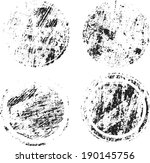 grunge shapes    Shutterstock .eps vector #190145756