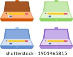 vector illustration set of a... | Shutterstock .eps vector #1901465815