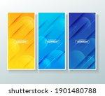modern abstract background... | Shutterstock .eps vector #1901480788