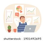 investment strategy concept.... | Shutterstock .eps vector #1901492695