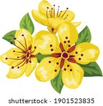 vietnamese tet holiday with...   Shutterstock .eps vector #1901523835