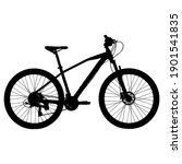 mtb mountain bike vector black...   Shutterstock .eps vector #1901541835