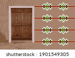vector of an old traditional...   Shutterstock .eps vector #1901549305