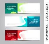 vector abstract design... | Shutterstock .eps vector #1901581615