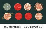 outer space exploration ... | Shutterstock .eps vector #1901590582