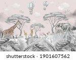 Animals In The Forest Children...