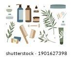 natural skin care. organic...   Shutterstock .eps vector #1901627398