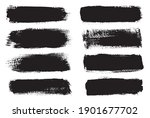 artistic grungy creative brush... | Shutterstock .eps vector #1901677702