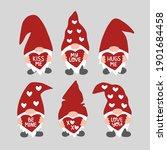 valentine's day vector...   Shutterstock .eps vector #1901684458