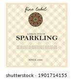 wine label italian food and... | Shutterstock .eps vector #1901714155
