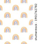 seamless vector pattern with... | Shutterstock .eps vector #1901762782