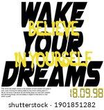 urban street style slogan print ... | Shutterstock .eps vector #1901851282