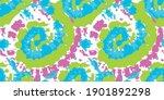 vector seamless tie and dye... | Shutterstock .eps vector #1901892298
