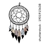 Dreamcatcher With Feathers ...