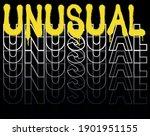 urban neon graffiti unusual...   Shutterstock .eps vector #1901951155