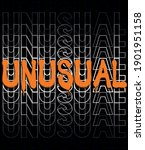 urban neon graffiti unusual... | Shutterstock .eps vector #1901951158