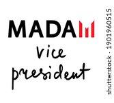 madam vice president political... | Shutterstock .eps vector #1901960515