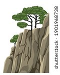 mountain vector isolated... | Shutterstock .eps vector #1901968738