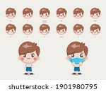 character for animation mouth... | Shutterstock .eps vector #1901980795