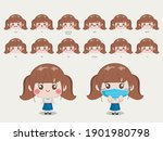 character for animation mouth... | Shutterstock .eps vector #1901980798