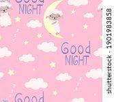 Sweet Dreams Seamless Pattern...