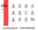 family members   line design...   Shutterstock .eps vector #1901996068