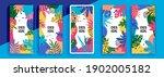 trendy editable template for...   Shutterstock .eps vector #1902005182