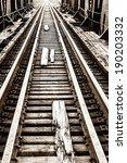 old railway bridge | Shutterstock . vector #190203332