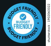 budget friendly vector icon.... | Shutterstock .eps vector #1902063322