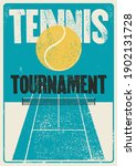 tennis tournament typographical ...   Shutterstock .eps vector #1902131728