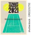tennis tournament 2021...   Shutterstock .eps vector #1902131752