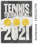 tennis tournament 2021...   Shutterstock .eps vector #1902131755