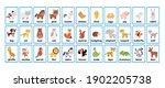big printable animals...   Shutterstock .eps vector #1902205738