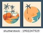 abstract coloful landscape... | Shutterstock .eps vector #1902247525