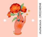 contemporary aesthetic boho...   Shutterstock .eps vector #1902248548