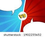 versus fight backgrounds. empty ... | Shutterstock .eps vector #1902255652