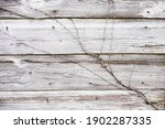 Old Dairy Barn Wall With...