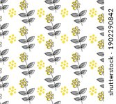 cute floral seamless pattern in ...   Shutterstock .eps vector #1902290842