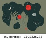 female character holding...   Shutterstock .eps vector #1902326278
