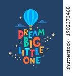 cute cartoon print with... | Shutterstock .eps vector #1902373468